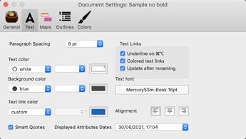 Document Settings: Sample no bold 2021-06-30 17-05-00