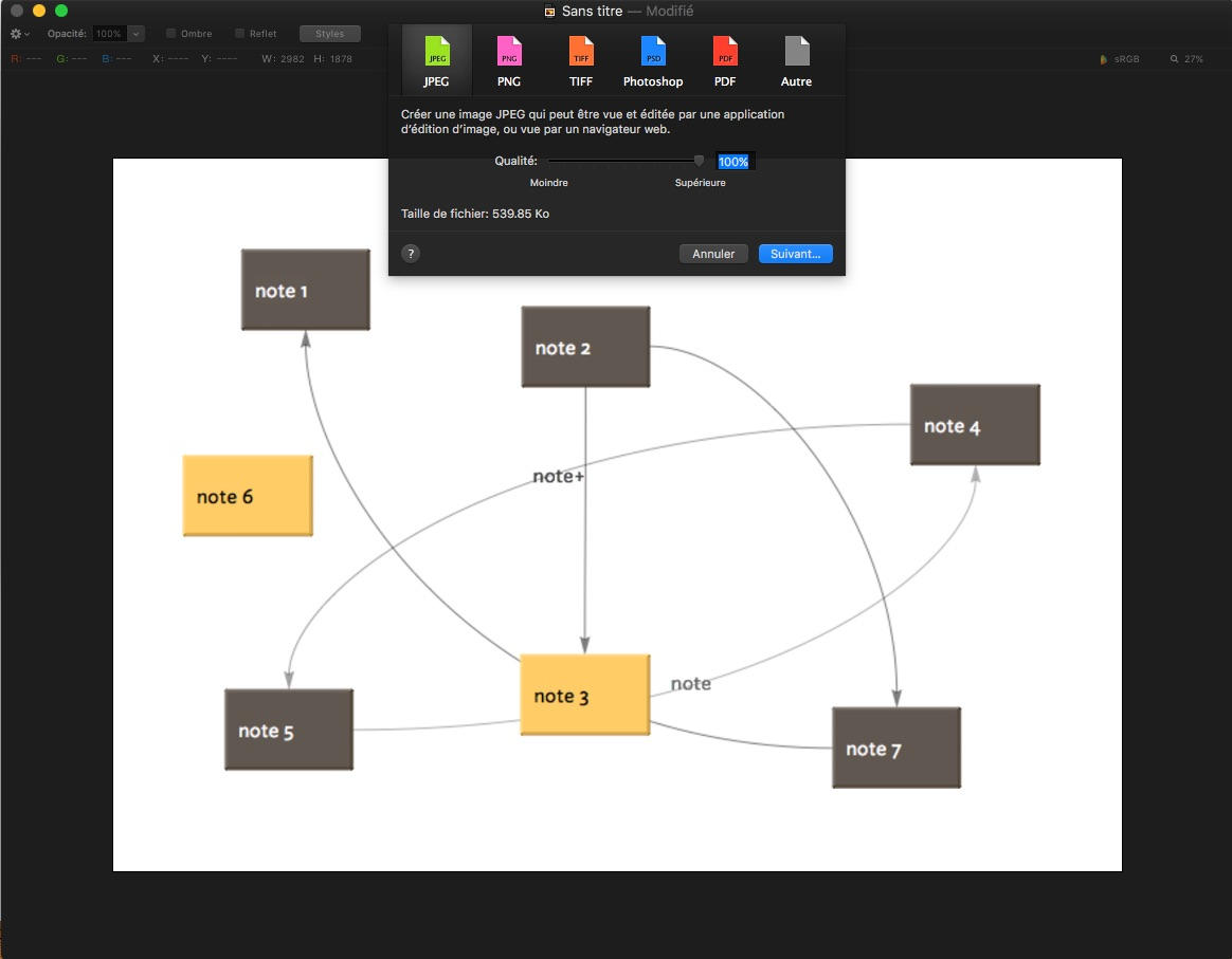 Exporting maps from Tinderbox to Latex editors - Exporting from