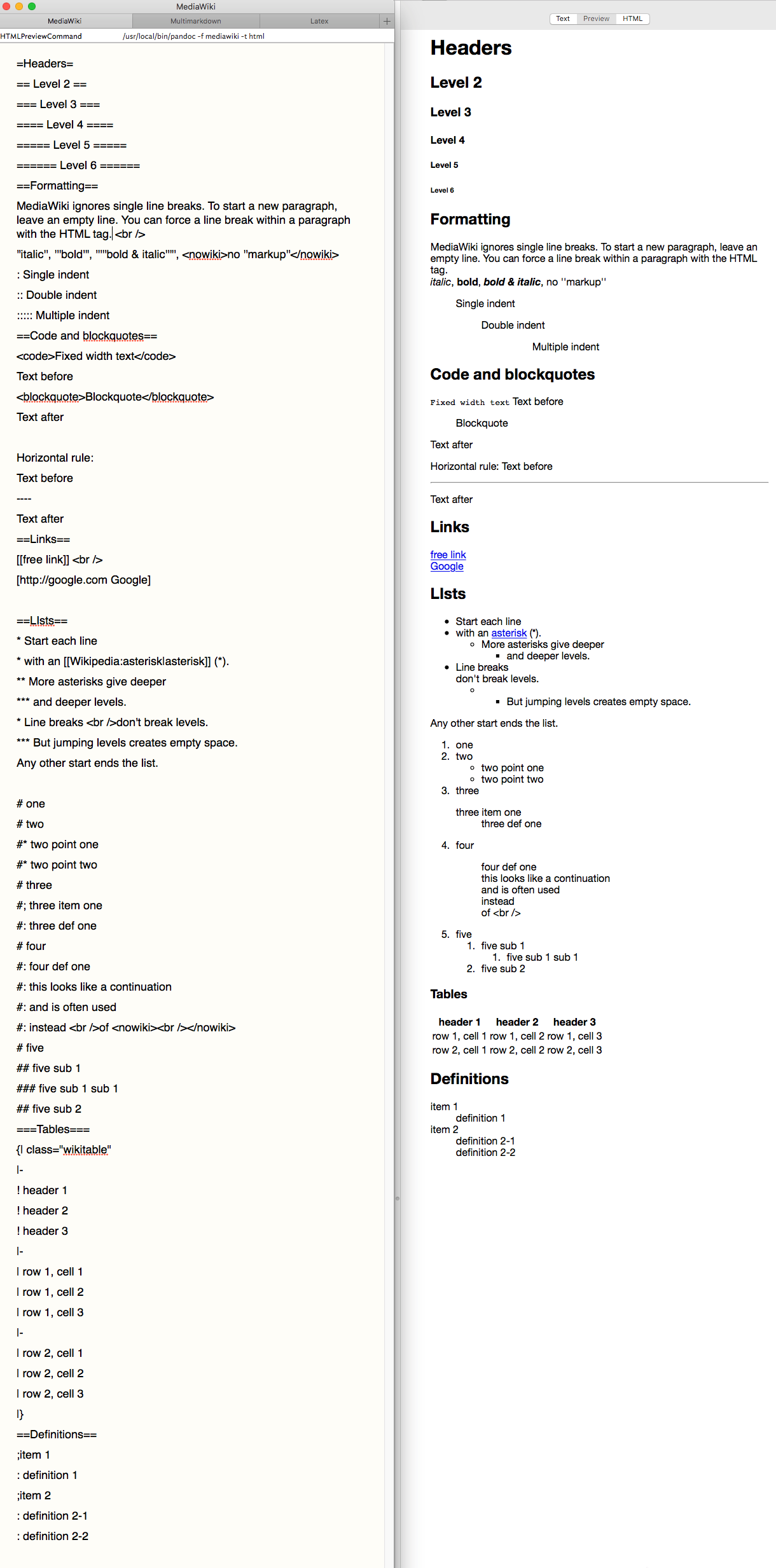 Markdown Footnotes Multimarkdown Q A Getting Started With