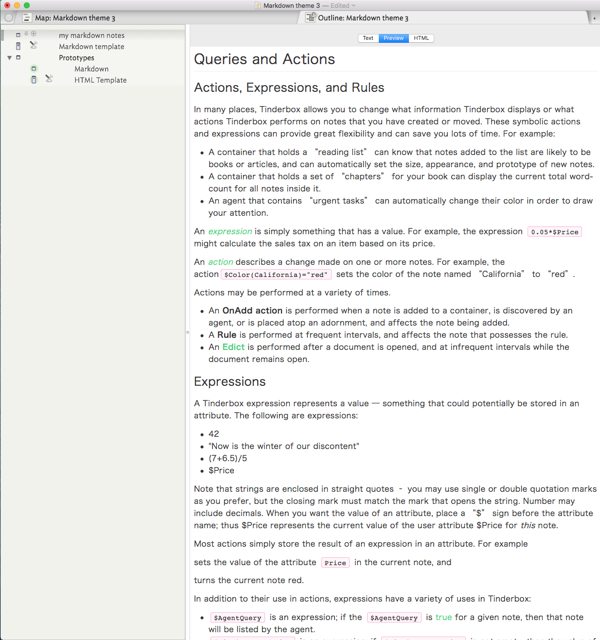 Markdown custom themes - Q & A - getting started with